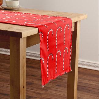 Zuckerstange-Muster-Tabellen-Läufer Kurzer Tischläufer