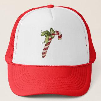 Zuckerstange-Weihnachtshut Truckerkappe