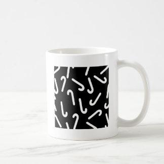 Zuckerstangehintergrund Kaffeetasse