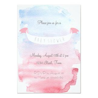 Zuckersüße Baby Shower Einladung 12,7 X 17,8 Cm Einladungskarte