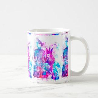 Zuckerwatte Goth Mädchen und Punk-Typ Kaffeetasse