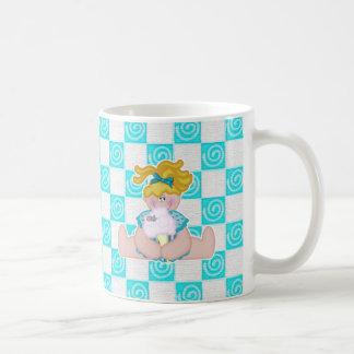 Zuckerwatte-Mädchen und Maus Kaffeetasse