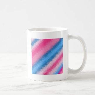 Zuckerwatte-Regenbogen-Farben Kaffeetasse