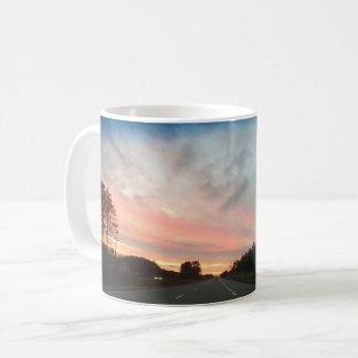 Zuckerwatte-Sonnenuntergang Tasse