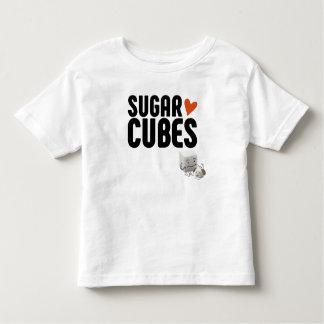 Zuckerwürfel-Kleinkind-Geldstrafe-Jersey-T - Shirt