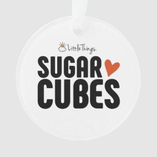 Zuckerwürfel-Weihnachtsverzierung Ornament