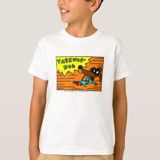 """Zuckmücke """"TAEKWON-DOG"""" scherzt grundlegenden T - T-Shirt"""