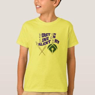 Zuerst in der Linie T-Shirt