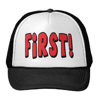Zuerst! Trucker Kappe