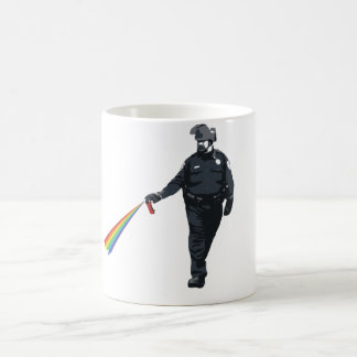 zufällig PfeffersprühPolizist Kaffeetasse