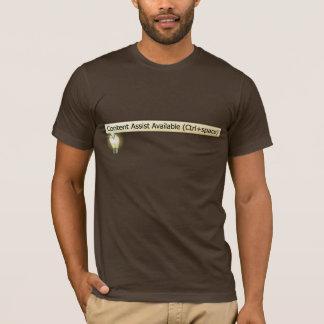 Zufriedene Vorlagen-verfügbarer T - Shirt