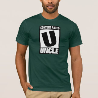 Zufriedener bewerteter Onkel T-Shirt