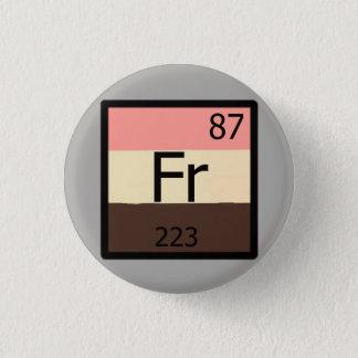 Zufuhrfrancium-periodische Tabelle Feedist Button