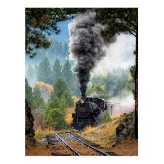 Zug 19 postkarte