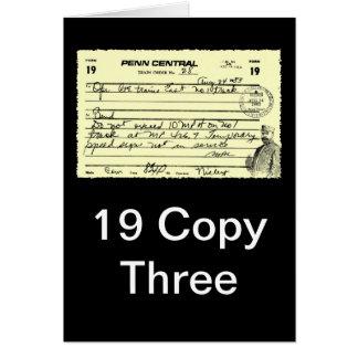 Zug-Auftrag - 19 Kopie drei Karte