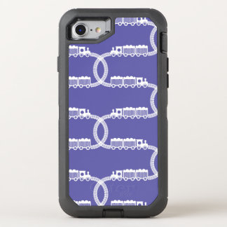 Zug-Bahnen OtterBox Defender iPhone 8/7 Hülle