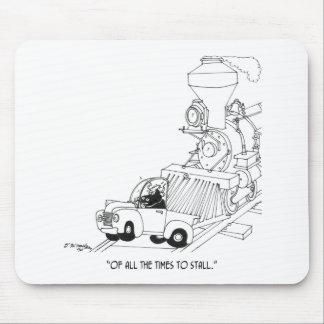 Zug-Cartoon 3230 Mousepad