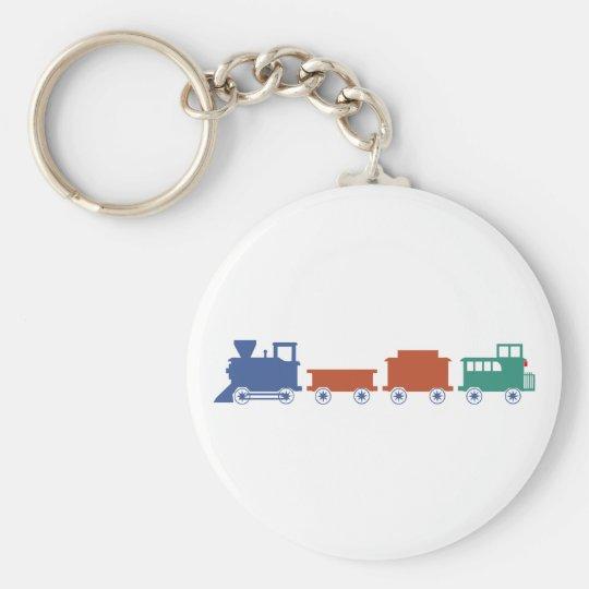 Zug Eisenbahn train railway Schlüsselanhänger