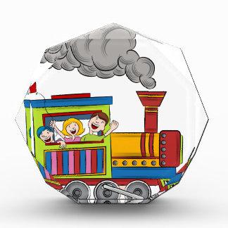 Zug-Fahrkinder Auszeichnung