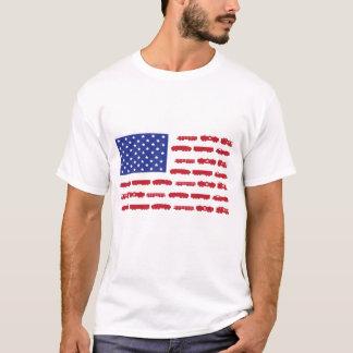 Zug-Flaggen-Shirt T-Shirt