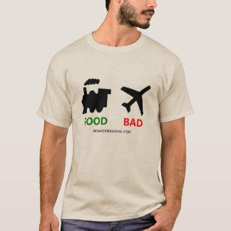 Zug-gute Flugzeuge schlecht T-Shirt