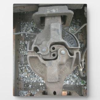 Zug-Koppelung Fotoplatte