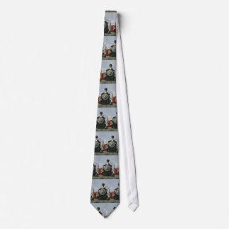 Zug-Krawatte Personalisierte Krawatten