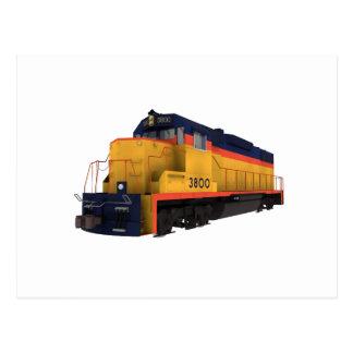 Zug-Motor: Chesapeake-Farbschema: Postkarte