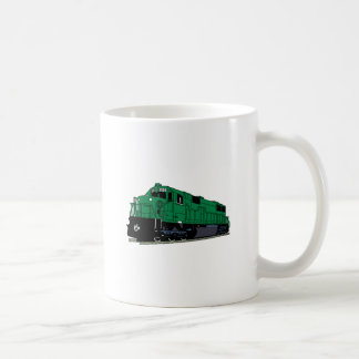 Zug-Motor Kaffeetasse
