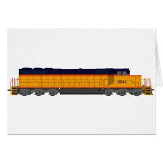 Zug-Motor: Klassisches Farbschema: Karte