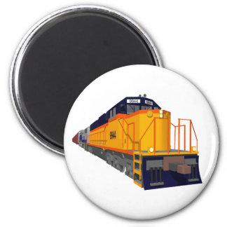 Zug-Motor: Klassisches Farbschema: Magnets