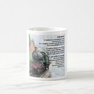 Zug - Neffe-Gedicht Kaffeetasse