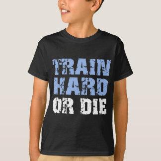 Zug stark oder die (Blau) T-Shirt