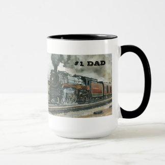 Zug-Tasse für Vati #1 Tasse