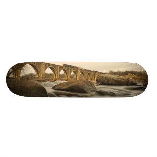 Zug über James River 19,7 Cm Skateboard Deck