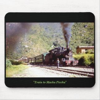 'Zug zu Machu Picchu Mousepad