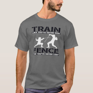 ZUG, ZUM DES FECHTENS ZU GEWINNEN T-Shirt