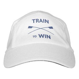 Zug, zum des Zitat Rowers-Gewohnheitstextes zu Headsweats Kappe