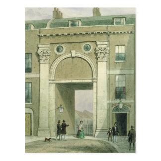 Zugang zum Fluss, Essex Straße, 1857 Postkarte