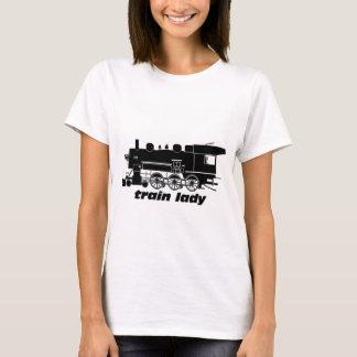 Zugdame vorbildliches railroading T-Shirt