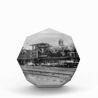 ZugdampflokomotivMotoralte Bahneisenbahn Acryl Auszeichnung
