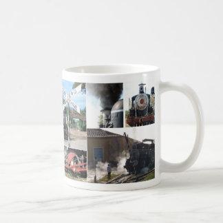Züge von Kuba Kaffeetasse