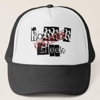 Zugelassener Horrorgeek-Hut Truckerkappe