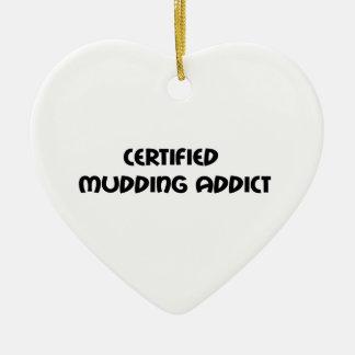 Zugelassener Mudding Süchtiger Keramik Ornament