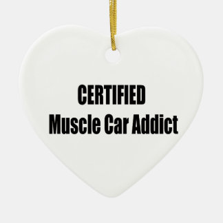 Zugelassener Muskel-Auto-Süchtiger Keramik Ornament
