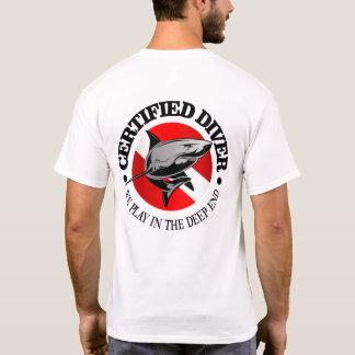 Zugelassener Taucher (Haifisch) T-Shirt