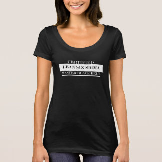 Zugelassenes mageres VorlagenGürtel-Damen-T-Stück T-Shirt