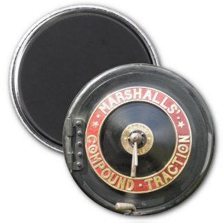 ZUGKRAFT-MOTOREN RUNDER MAGNET 5,7 CM