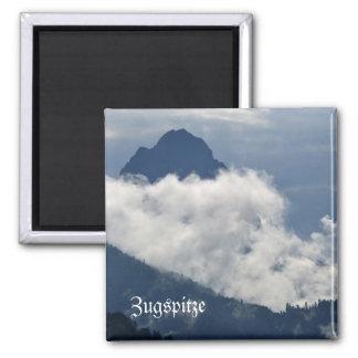 Zugspitze, Garmisch Partenkirchen Magnet Quadratischer Magnet
