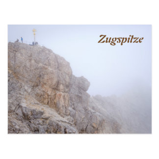 Zugspitze Postkarte